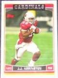 2006 Topps J.J. Arrington #165 Cardinals