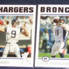 2004 Topps Drew Brees #181 Chargers