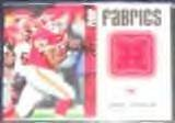 2006 Fleer Fabrics Larry Johnson #FF-JO Chiefs
