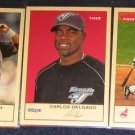 2005 Fleer Tradition Carlos Delgado #181 Blue Jays