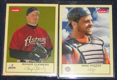 2005 Fleer Tradition Roger Clemens #19 Astros
