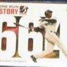 2006 Topps HR History Barry Bonds #664 Giants