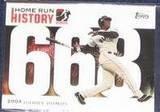 2006 Topps HR History Barry Bonds #668 Giants