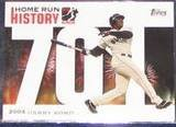 2006 Topps HR History Barry Bonds #701 Giants