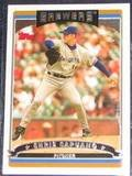 2006 Topps Chris Capuano #231 Brewers