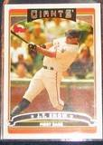 2006 Topps J.T. Snow #123 Giants