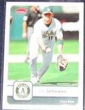 2006 Fleer Dan Johnson #31 Athletics