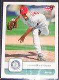 2006 Fleer Jarrod Washburn #9 Mariners