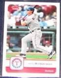 2006 Fleer Brad Wilkerson #217 Rangers