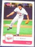 2006 Fleer Scott Baker #368 Twins