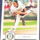 2006 Fleer  Danny Haren #32 Athletics