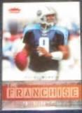2006 Fleer Franchise Steve McNair #TF-SM Titans