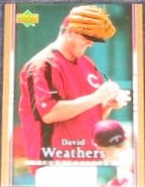 2007 UD First Edition David Weathers #200 Reds