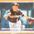 2007 UD First Edition Jamey Carroll #203 Rockies
