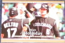 2007 UD First Edition Matt Holliday #204 Rockies