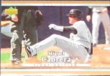 2007 UD First Edition Miguel Cabrera #209 Marlins