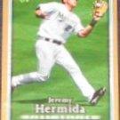 2007 UD First Edition Jeremy Hermida #212 Marlins
