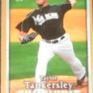 2007 UD First Edition Taylor Tankersley #217 Marlins