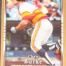 2007 UD First Edition Chris Burke #222 Astros
