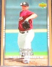 2007 UD First Edition Brandon Backe #224 Astros