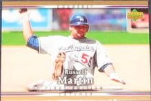 2007 UD First Edition Russell Martin #229 Dodgers