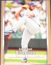 2007 UD First Edition Jonathan Broxton #234 Dodgers
