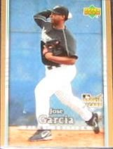 2007 UD First Edition Rookie Jose Garcia #216 Marlins