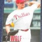 2006 UD Randy Wolf #351 Phillies