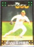 2007 Topps Nick Swisher #2 Athletics