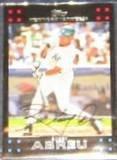 2007 Topps Bobby Abreu #5 Yankees
