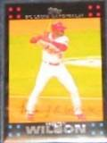 2007 Topps Preston Wilson #8 Cardinals
