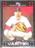 2007 Topps Jason Varitek #16 Red Sox