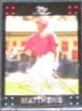 2007 Topps Gary Matthews #25 Angels