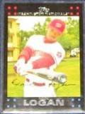 2007 Topps (Red Back) Nook Logan #49 Nationals