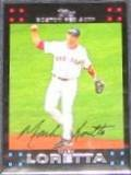 2007 Topps Mark Loretta #56 Red Sox