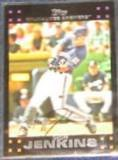 2007 Topps (Red Back) Geoff Jenkins #67 Brewers