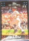 2007 Topps Moises Alou #73 Mets
