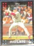 2007 Topps Scott Rolen #85 Cardinals