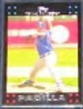 2007 Topps Vicente Padilla #143 Rangers