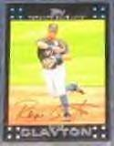 2007 Topps Royce Clayton #167 Blue Jays