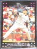 2007 Topps Jeff Francis #223 Rockies