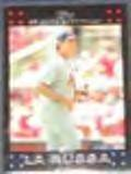 2007 Topps Manager Tony La Russa #249 Cardinals