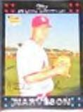 2007 Topps Rookie Oswaldo Navarro #282 Mariners