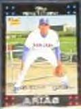 2007 Topps Rookie Joaquin Arias #286 Rangers