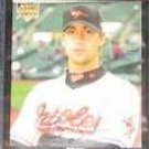 2007 Topps Rookie Brian Burres #289 Orioles
