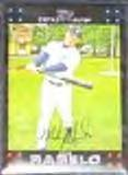 2007 Topps Rookie (Red Back) Mike Rabelo #294 Tigers