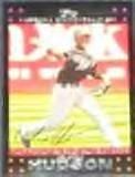 2007 Topps Gold Glove Orlando Hudson #299 Diamondbacks