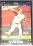 2007 Topps Cy Young Brandon Webb #319 Diamondbacks