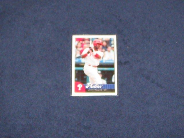 2007 Fleer Jimmy Rollins #98 Phillies