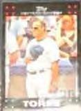 2007 Topps Manager Joe Torre #243 Yankees